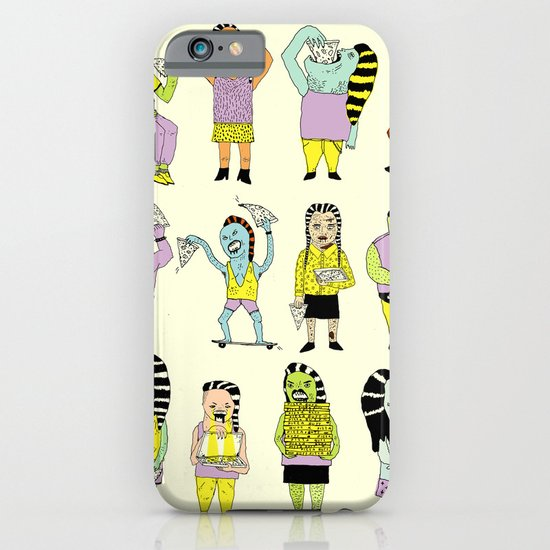 KIDS AND PIZZA iPhone & iPod Case