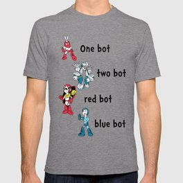 'Lots of Bots' by Dr. Light (Mega Man / Dr. Seuss parody) T-shirt