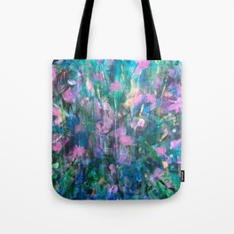 """FAIRY DREAMS"" Original Painting by Cyd Rust Tote Bag"