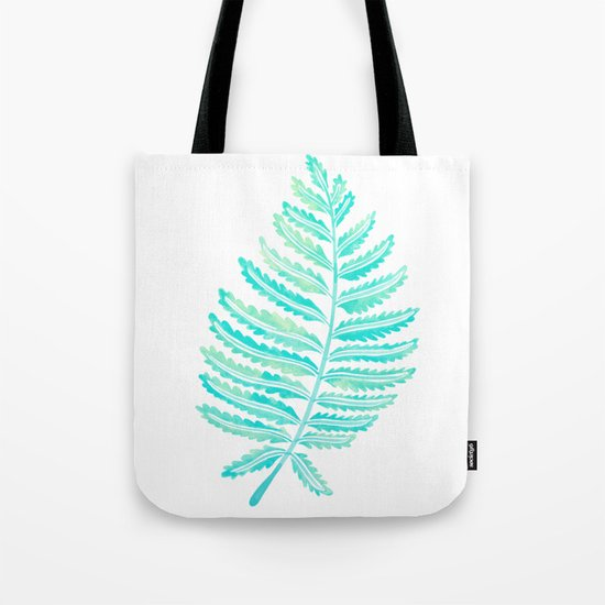 Fern Leaf – Turquoise Palette by catcoq