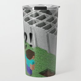 Mine craft reality Travel Mug