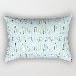 swords Rectangular Pillow