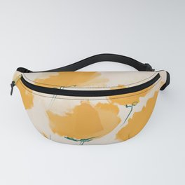 The Yellow Flowers Fanny Pack