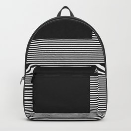 Figaro in Black and White Backpack