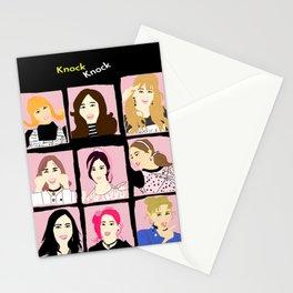 Knock Knock! Pink Version Stationery Cards
