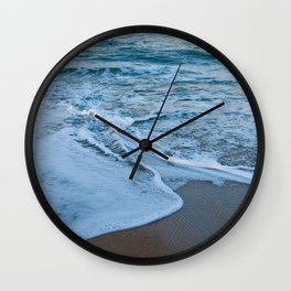 Ocean Study III Wall Clock
