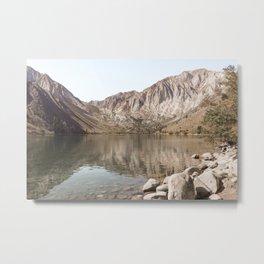 Mountains Of California Photo | Mammoth Lakes Sierra Nevada Landscape Art Print | Nature Travel Photography Metal Print