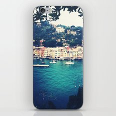 A vintage day in Portofino iPhone & iPod Skin