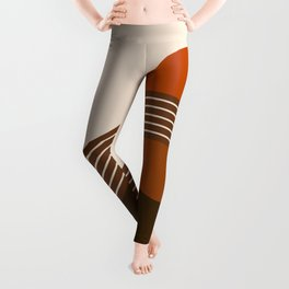 Cocoa Sundown Stripes Leggings