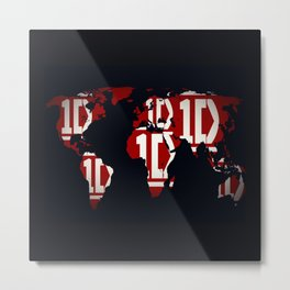 ONE DIRECTION LOGO Metal Print