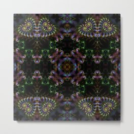 FRACTAL PATTERN  MYSTERIOUS FOREST 5 Metal Print