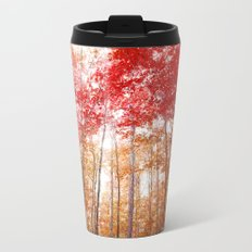 Red and Gold Travel Mug