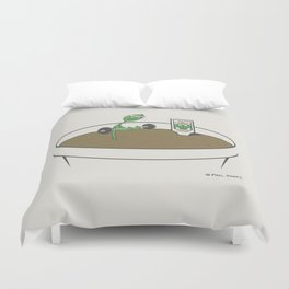 Spring Training Duvet Cover