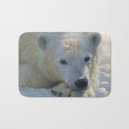 Polar Bear Cub Bath Mat