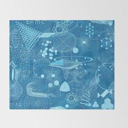 Science Schemes Pattern Throw Blanket
