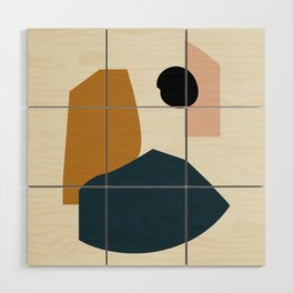 Shape study #1 - Lola Collection Wood Wall Art