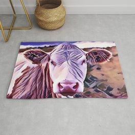 The Jersey Dairy Cow Rug
