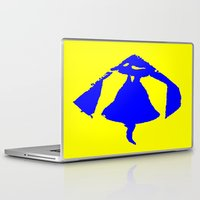 tinker bell Laptop & iPad Skins featuring Bell by osile ignacio