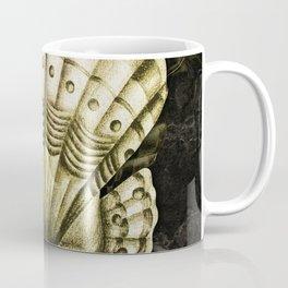 Dystopian Cockle - Gold Coffee Mug