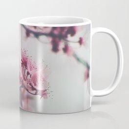 Pink Cherry Blossom On Branch Coffee Mug