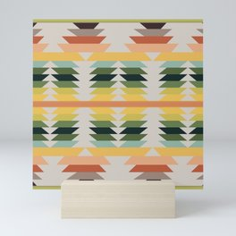American Native Pattern No. 207 Mini Art Print