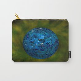 Glitter Blueball  Carry-All Pouch