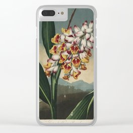 Henderson, Peter C. (d.1829) - The Temple of Flora 1807 - Nodding Renealmia Clear iPhone Case