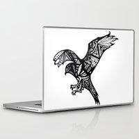 hawk Laptop & iPad Skins featuring Hawk by Cody Barry