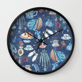 Jane Austens favourite things Wall Clock