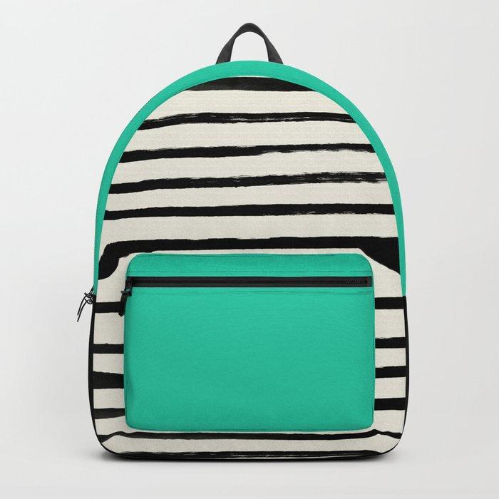 Mint x Stripes Backpack
