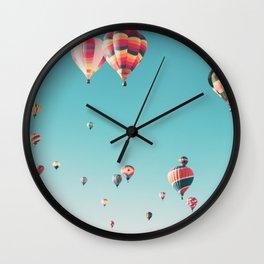 Hot Air Balloon Ride Wall Clock