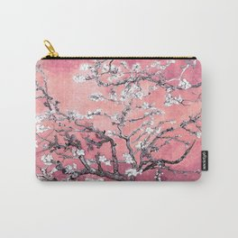 Van Gogh Almond Blossoms : Peachy Pink Carry-All Pouch