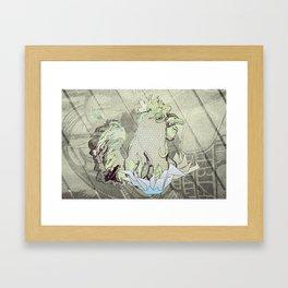 El Gallo Ralph Framed Art Print