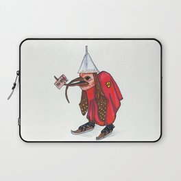 Bird With Letter Laptop Sleeve