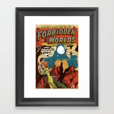 Forbidden Worlds Framed Art Print