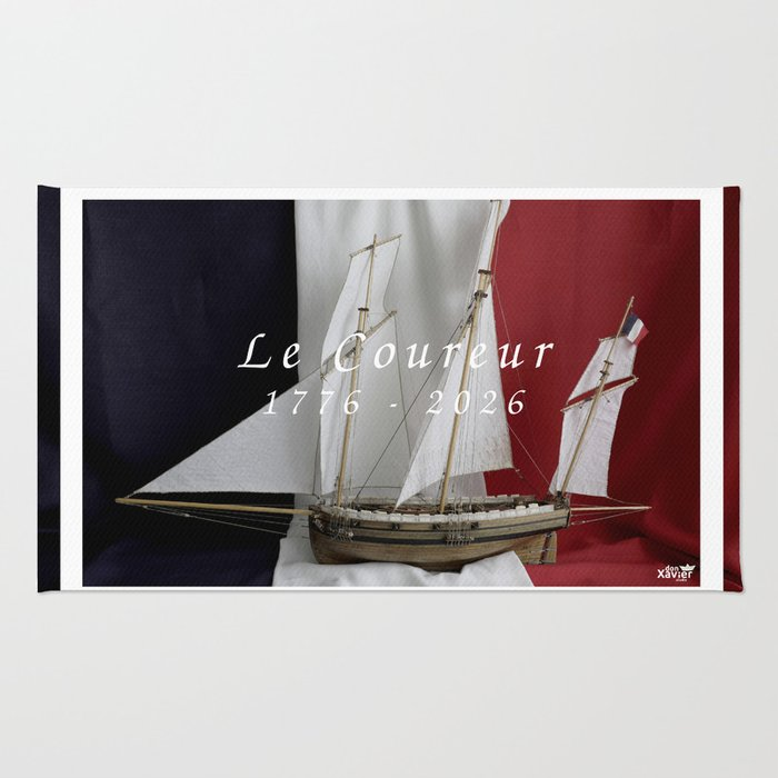 Le Coureur, 250 years Rug