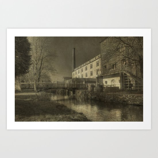 Coldharbour Hill  Art Print