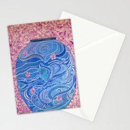 Oriental Vase Stationery Cards