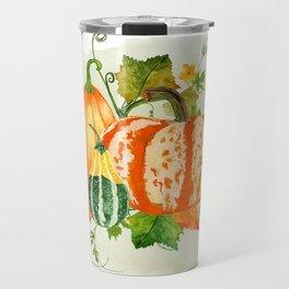 Pumpkin Bouquet Travel Mug