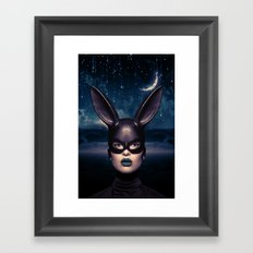 Bad Girl Framed Art Print