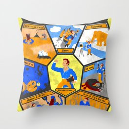 Photographic Terms for the Intrepid Fellow Throw Pillow