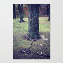 Unchain my Roots Canvas Print