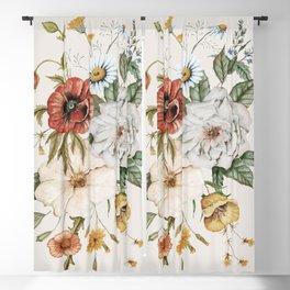 Wildflower Bouquet Blackout Curtain