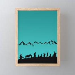 The Nines Framed Mini Art Print