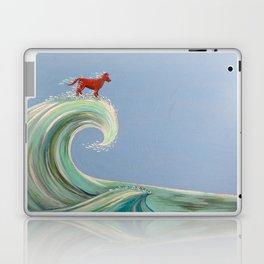 Surfing Kelpie Laptop & iPad Skin