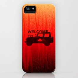 Welcome To... iPhone Case