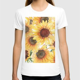 Sunflowers Bloom  T-shirt
