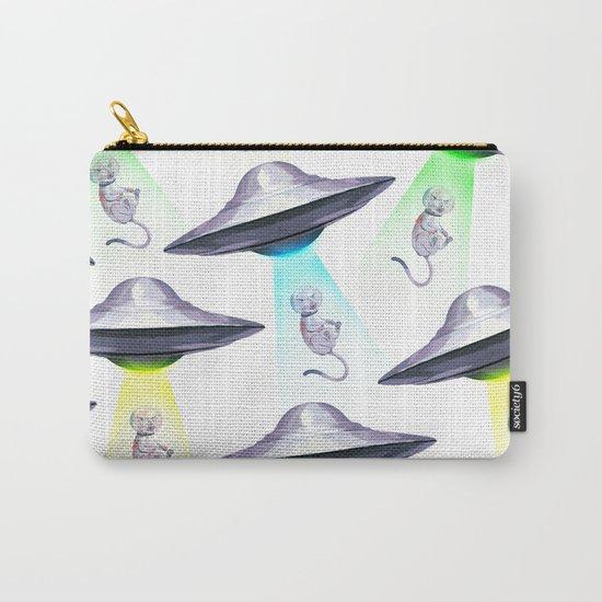 UFO ASTRONAUT KITTEN Carry-All Pouch