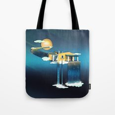 Castle in Heaven Tote Bag