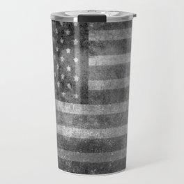 Old Glory with worn grungy treatment Travel Mug